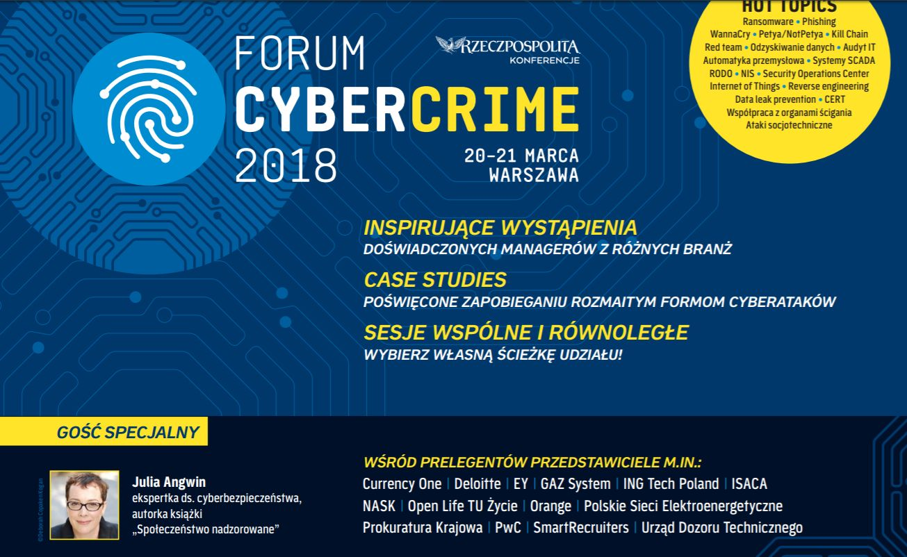 We ware at CyberCrime 2018 - Currency One